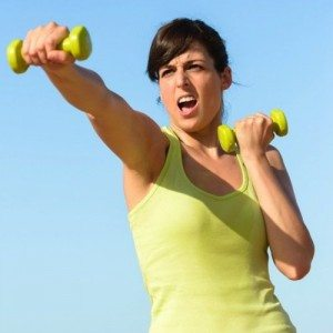 Cara mengecilkan lengan Weighted Punch