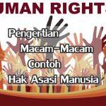 Pengertian, Macam-Macam dan Contoh Hak Asasi Manusia HAM